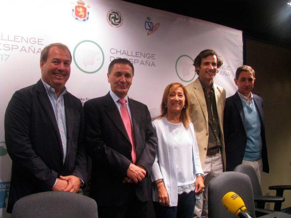 Presentación del Challenge Tour de España