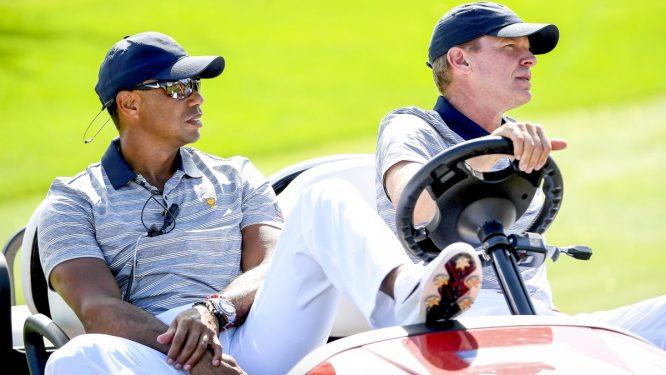 Tiger, en la Presidents Cup © PGA Tour