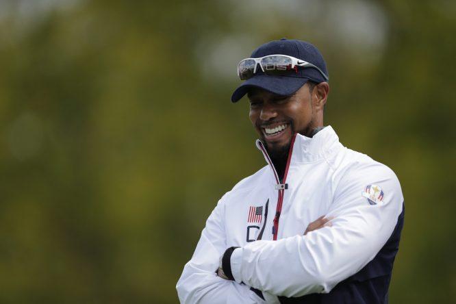 Tiger Woods, en la Ryder © Golffile   Fran Caffrey