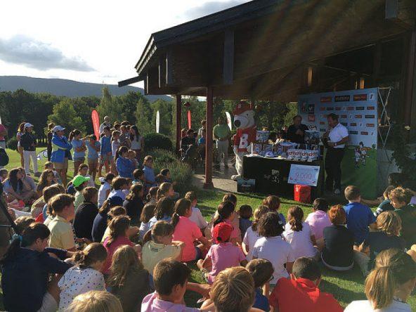 Animada entrega de premios del torneo en Ulzama.