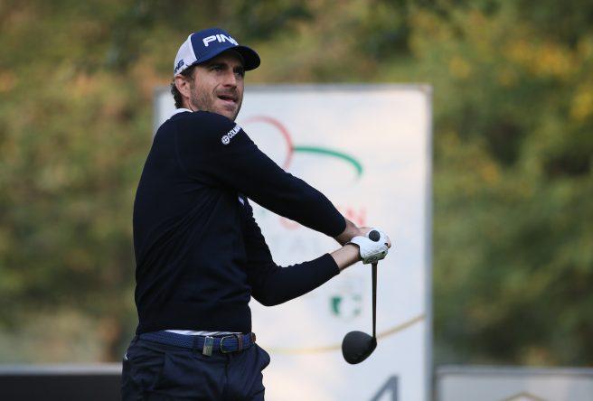 Alejandro Cañizares esta semana en el Golf Club Milano. © Golffile | David Lloyd