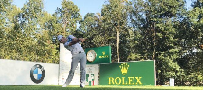 Jon Rahm esta semana en el Open de Italia. © Golf Club Milano