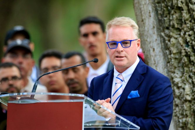 Keith Pelley. © Golffile | Phil Inglis
