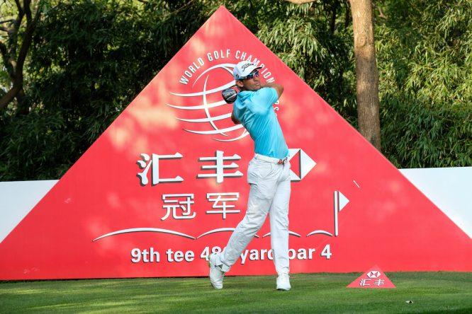 Rafa Cabrera Bello esta semana en el Sheshan International Golf Club. © Golffile | Fran Caffrey