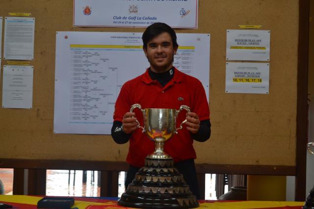 Ángel Hidalgo, defensor del título, es el gran favorito para ganar la Copa Puerta de Hierro en Guadalmina. © Adolfo Juan Luna