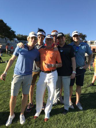 Miguel Ángel Jiménez transmite alegría allá donde juega. © PGA Tour Champions