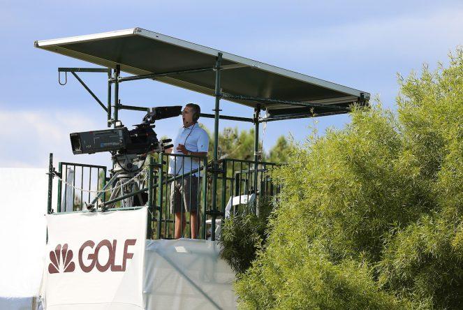 Cámara de TV © Golffile  Kenneth E. Dennis