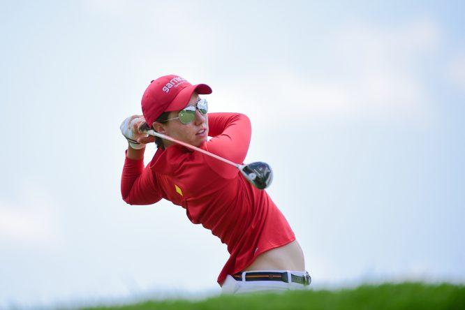 Carlota Ciganda. © Golffile | Ken Murray
