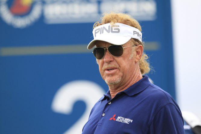 Miguel Ángel Jiménez. © Golffile | Fran Caffrey