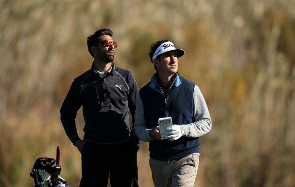 Álvaro Quirós y Gonzalo Fernández Castaño, durante la Final de la Escuela del European Tour. © European Tour