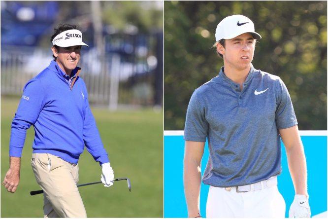 Gonzalo Fernández Castaño y Pep Anglés. © Golffile
