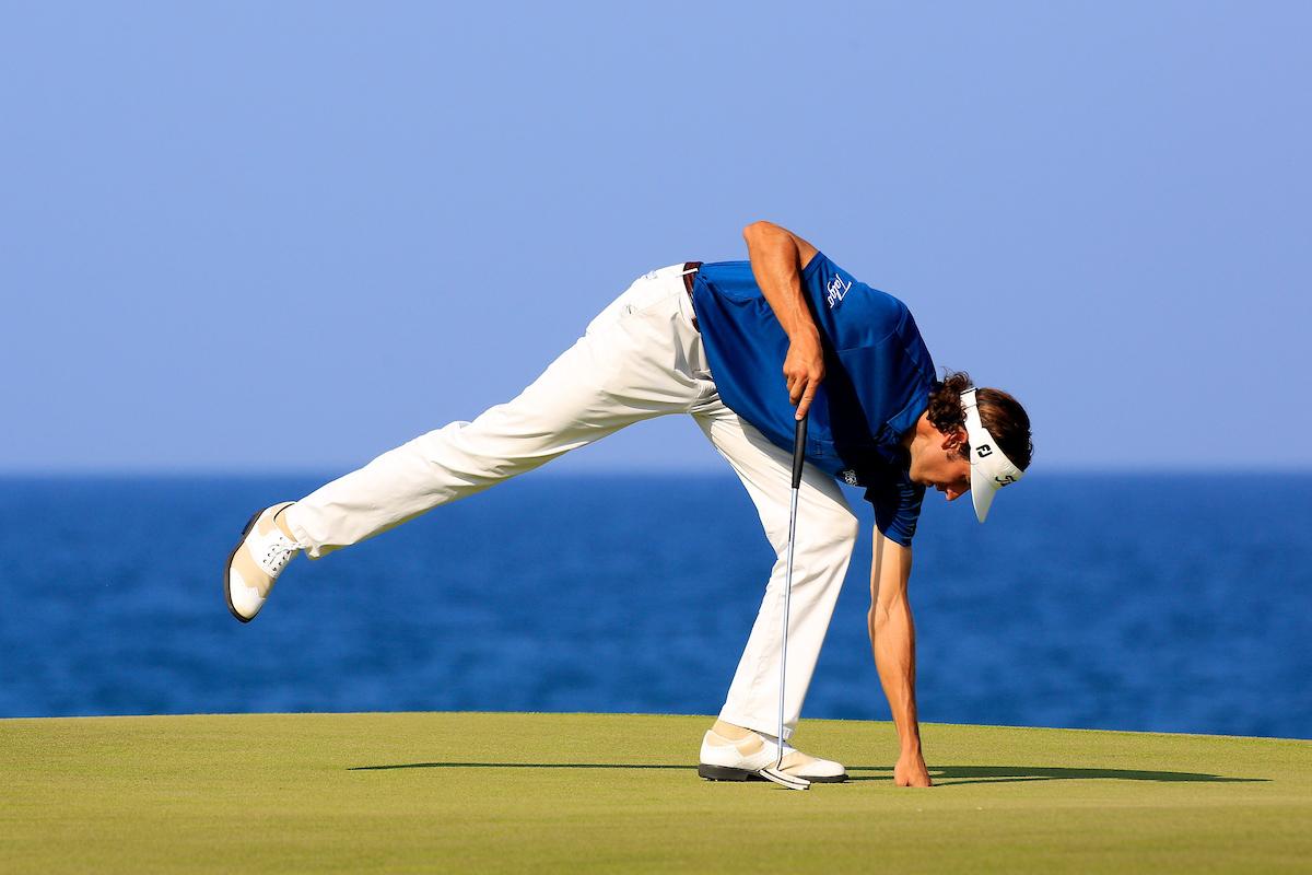 Pedro Oriol en la tercera jornada del NBO Golf Classic Grand Final. © Golffile   Phil Inglis