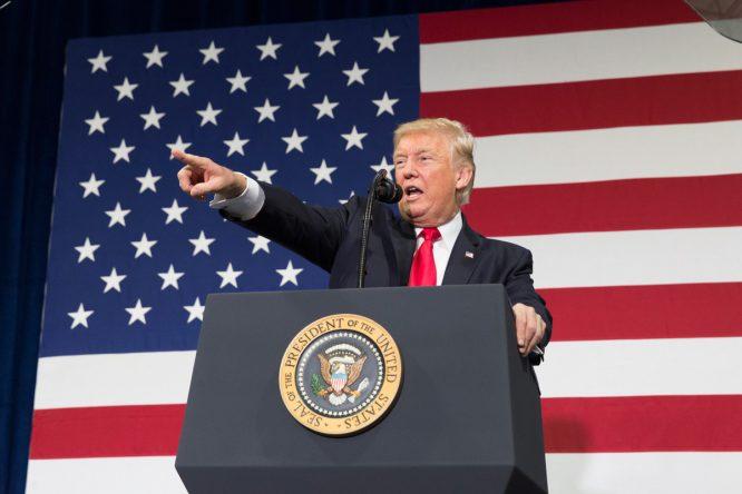 Donald Trump © The White House