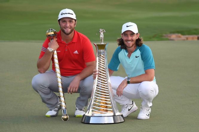 Jon Rahm and Tommy Fleetwood © Getty Images