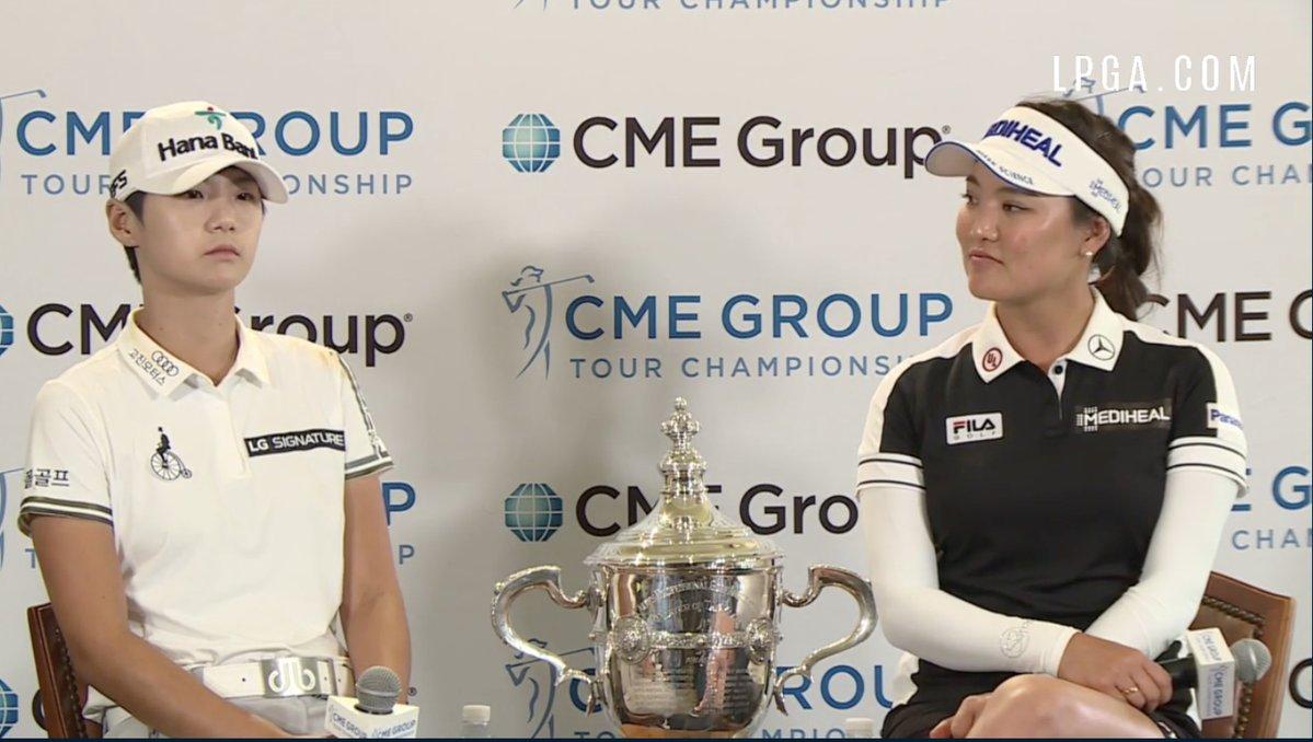 Sung Hyun Park y So Yeon Ryu, elegidas las Mejores Jugadoras del Año. © LPGA
