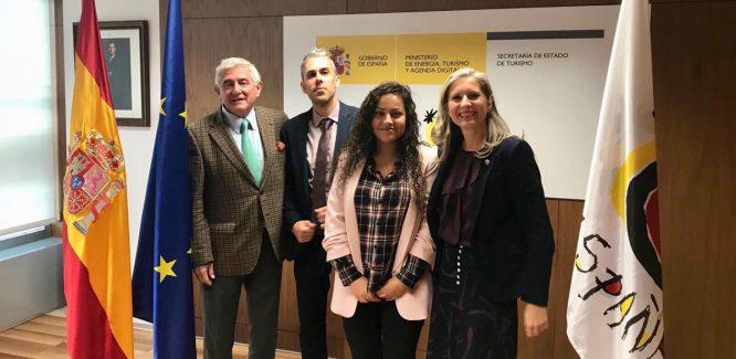 Encuentro de la AECG y la RFEG con la Secretaria de Estado de Turismo