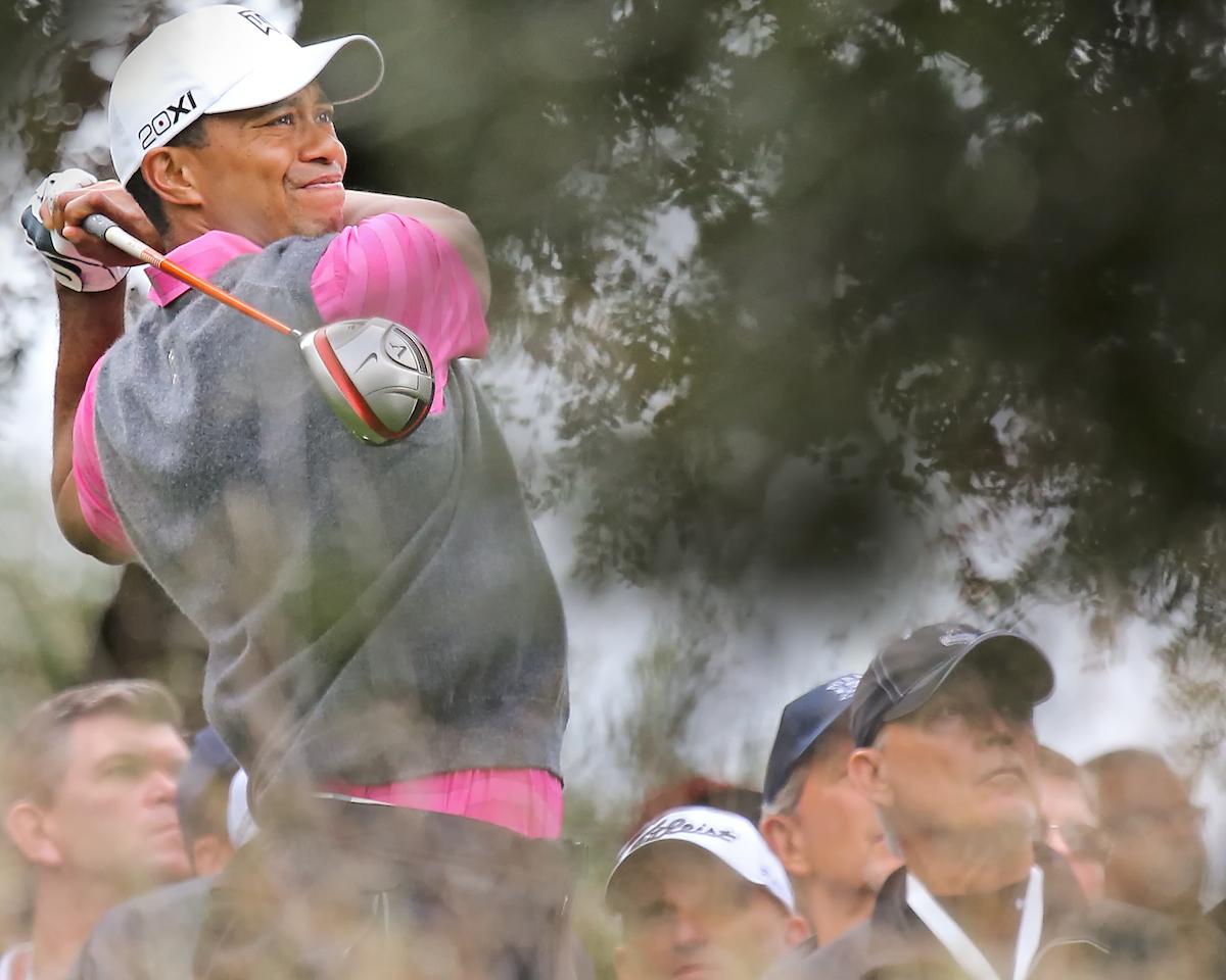 Tiger Woods. © kenneth e.dennis / kendennisphoto.com) www.golffile.ie