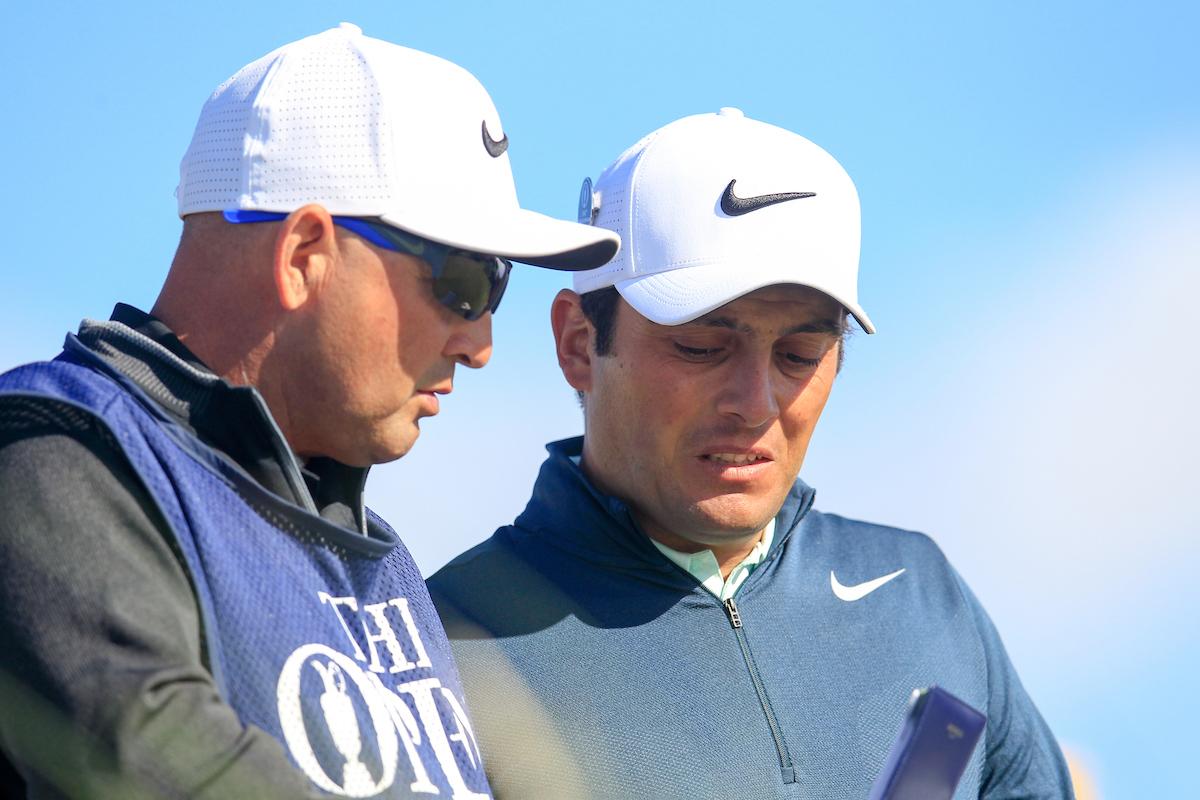 Francesco Molinari y Pello Iguarán. © Golffile   Fran Caffrey