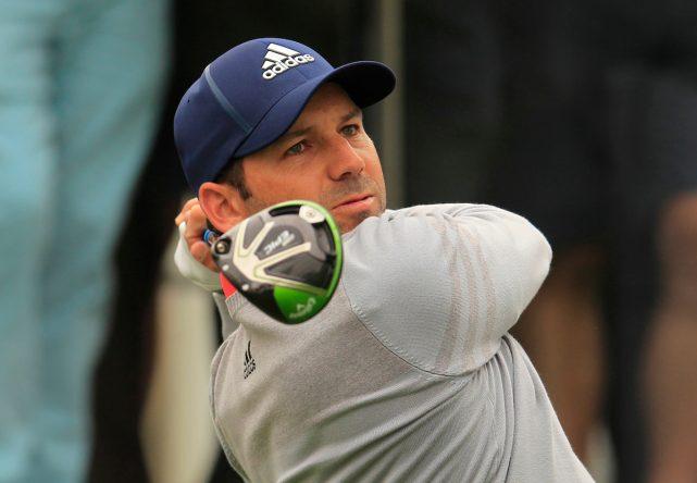 Sergio García ya utilizó los palos Callaway en Hong Kong. © Golffile | Thos Caffrey