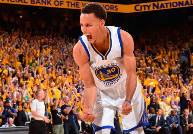 Stephen Curry, jugador de la NBA