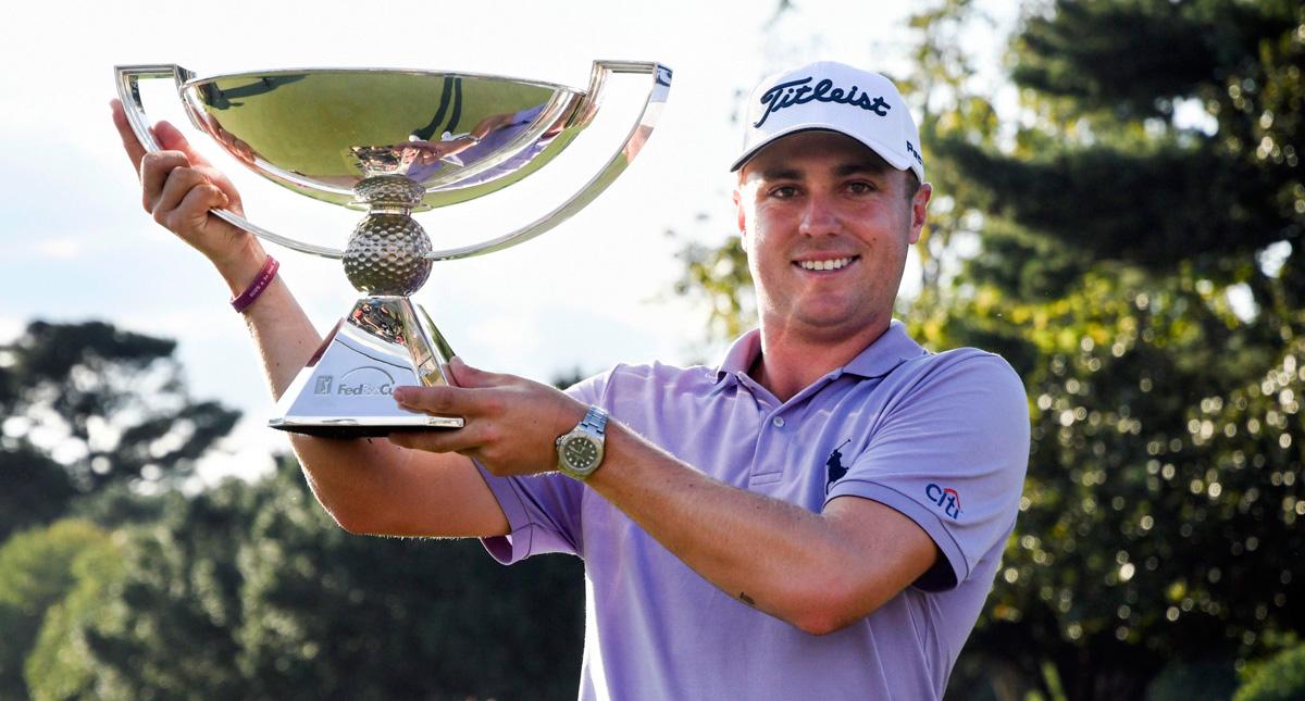 Justin Thomas, ganador de la FedEx Cup 2017 © PGA Tour