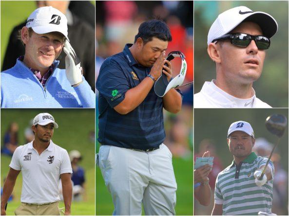 Brandt Snedeker, Kiradech Aphibarnrat, Dylan Frittelli, Satoshi Kodaira y Yusaku Miyazato. © Golffile