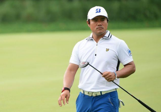Yusaku Miyazato, hoy en la última ronda del Indonesian Masters. © Asian Tour