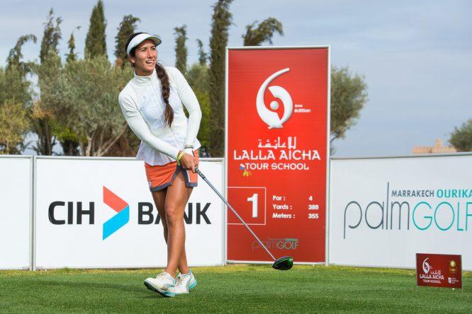 Piti Martínez Bernal es una de las seis españolas que están en el top 25 de la Final de la Escuela. © Tristan Jones
