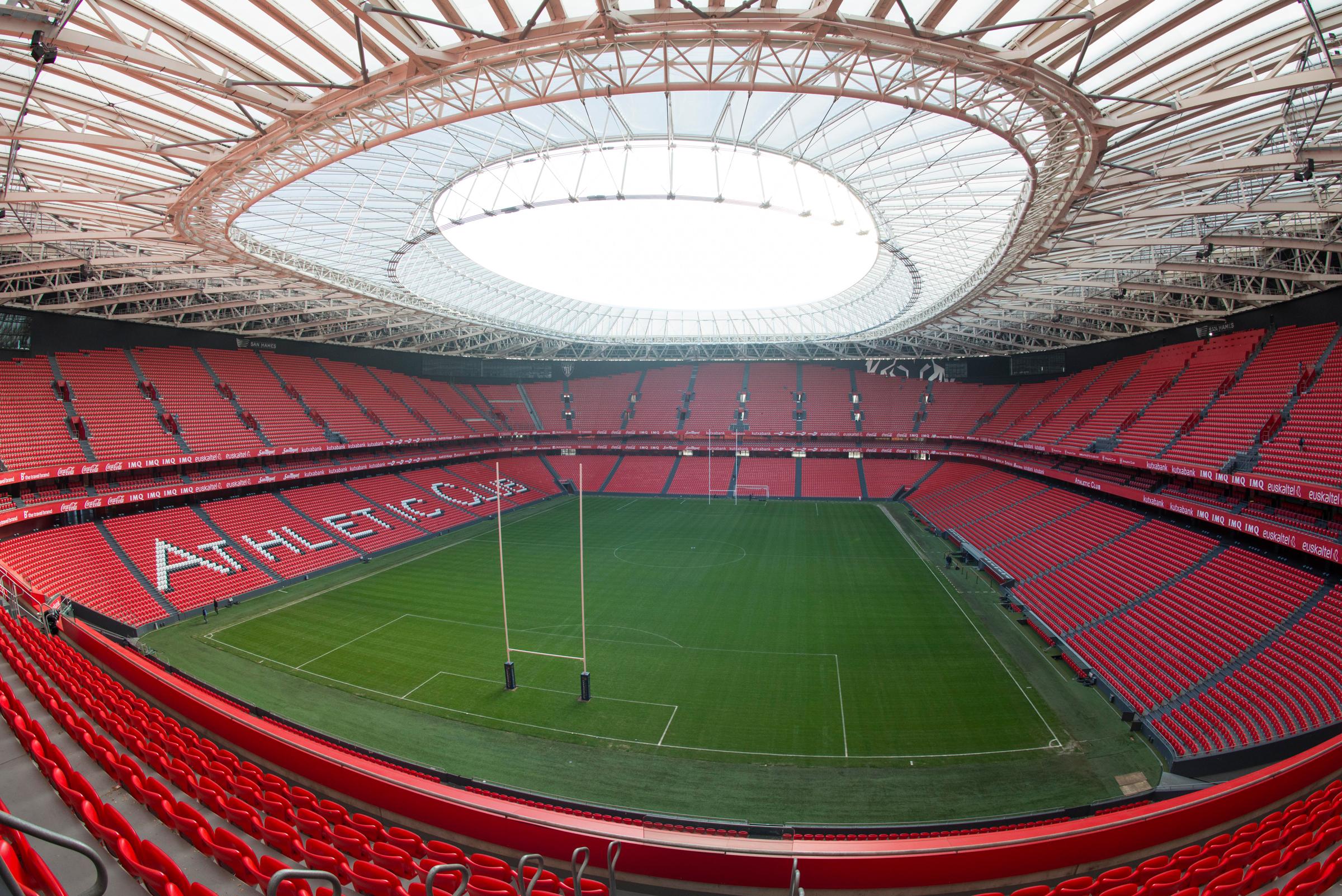San Mamés © Federación Española de Rugby