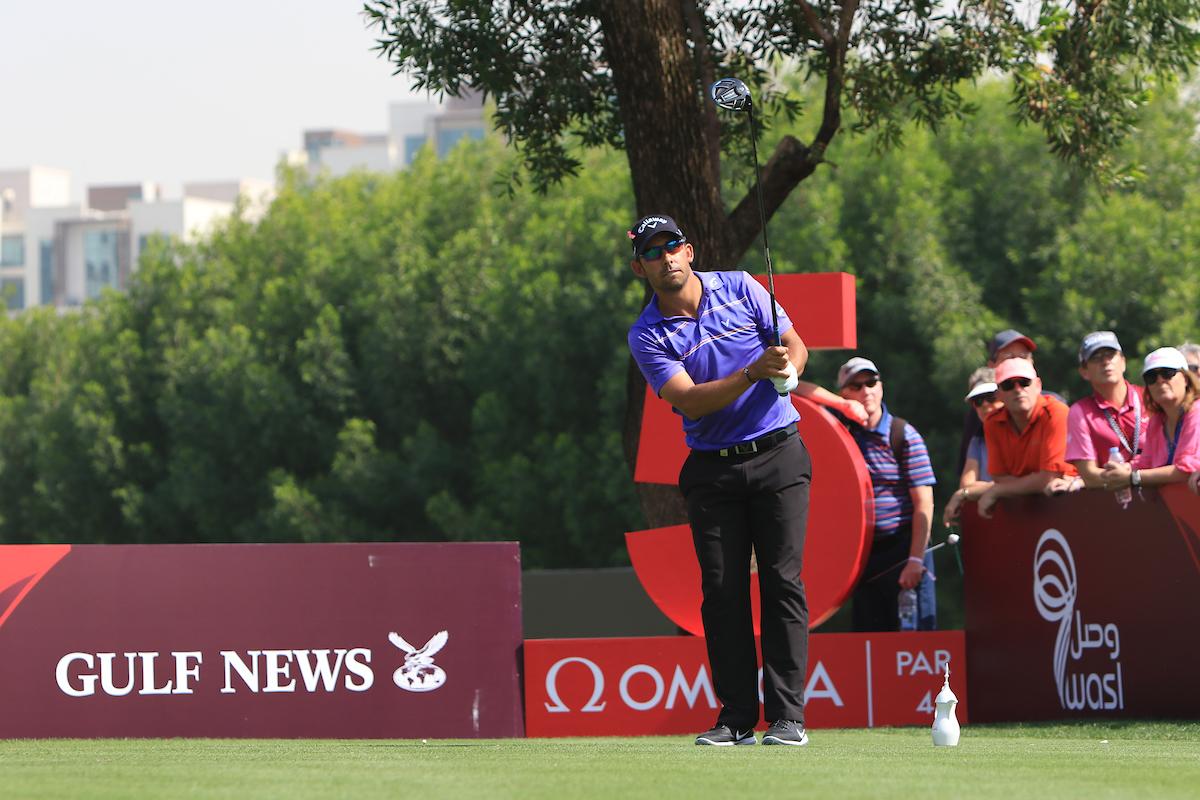 Pablo Larrazábal en el Emirates Golf Club. © Golffile | Thos Caffrey