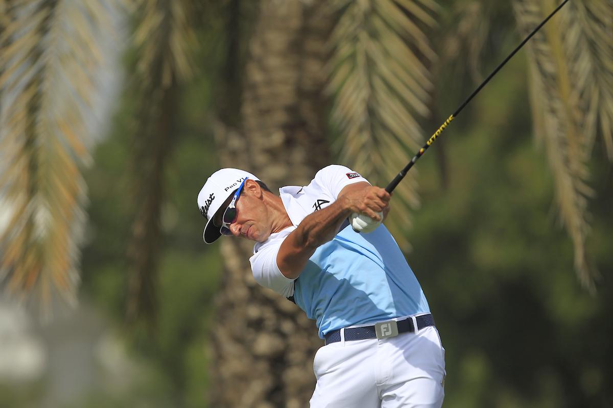 Rafa Cabrera Bello, en Dubai la semana pasada. © Golffile   Thos Caffrey
