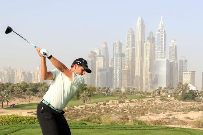 Sergio García, hoy en Dubai durante el Pro-Am. © Phil Inglis | Golffile