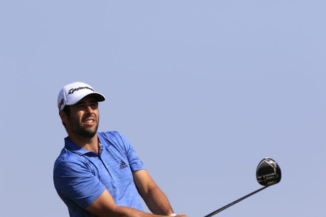 Adrián Otaegui, el español mejor situado tras la primera jornada en Omán. © Golffile | Phil Inglis