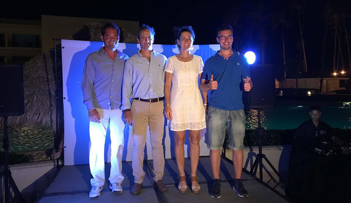 Ángel Torres, César Fernández de Caleya, Garbiñe Mendizábal y Pol Girbau