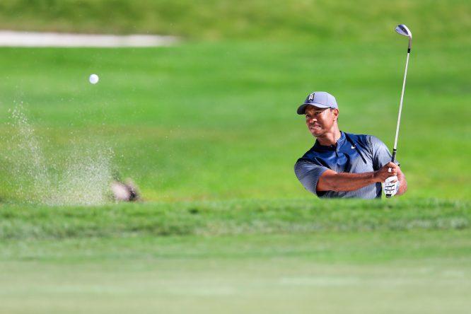 Tiger Woods, ayer durante la primera ronda del Honda Classic. © Fran Caffrey   Golffile
