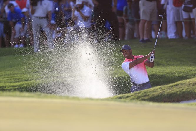 Tiger Woods, durante la segunda ronda en el Honda Classic. © Fran Caffrey   Golffile