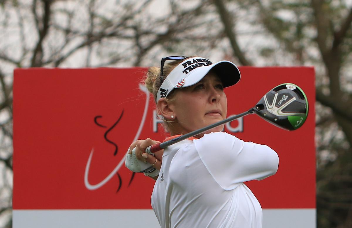 Jessica Korda. © Golffile | Thos Caffrey