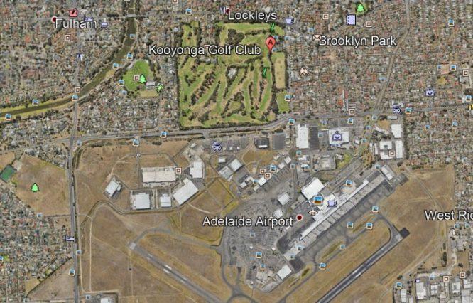 Imagen de Google Earth.