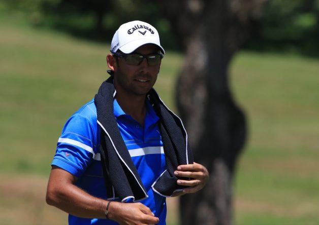 Pablo Larrazábal en el Maybank Championship. © Golffile | Thos Caffrey