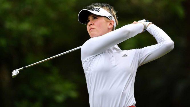 Jessica Korda sigue al mando en Tailandia. © LPGA