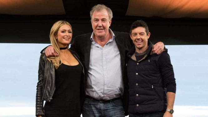 Paris y Rory, con Jeremy Clarkson © Amazon Prime Video