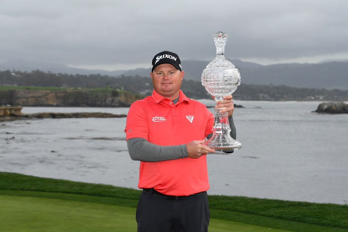 Ted Potter Jr., ganador del AT&T Pebble Beach Pro-Am. © Twitter PGA Tour