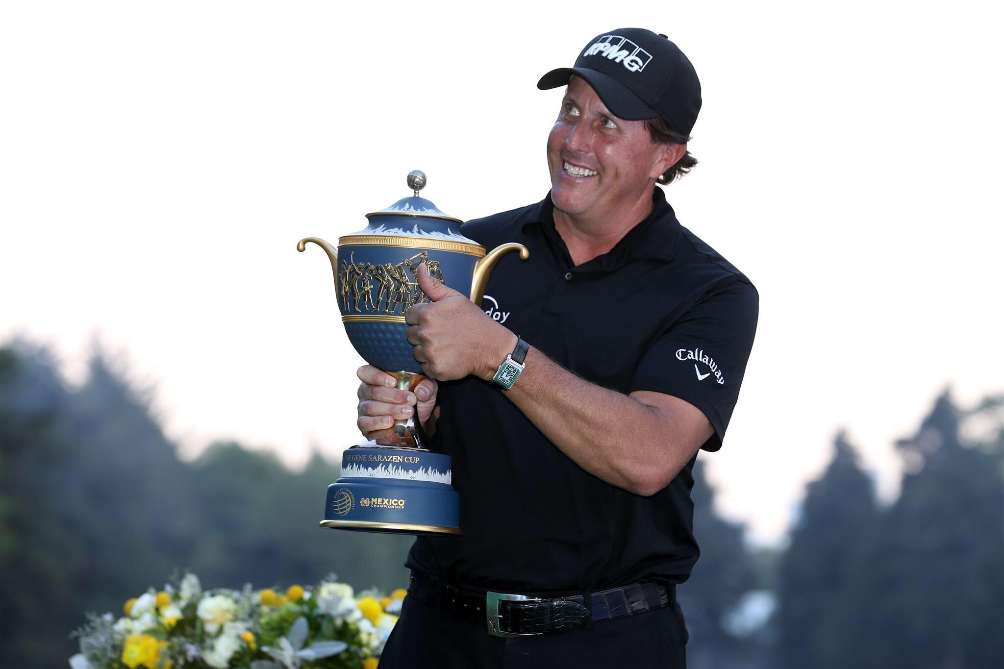 Phil Mickelson © PGA Tour