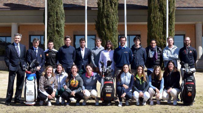 Una amplia representación de los miembros del Programa Pro Spain 2018. © Luis Corralo