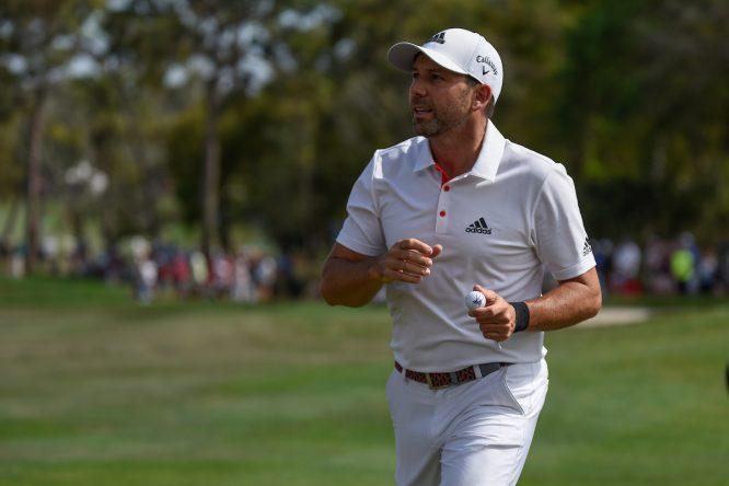 Sergio García, durante su ronda final en el Valspar Championship. © Golffile | Dalton Hamm