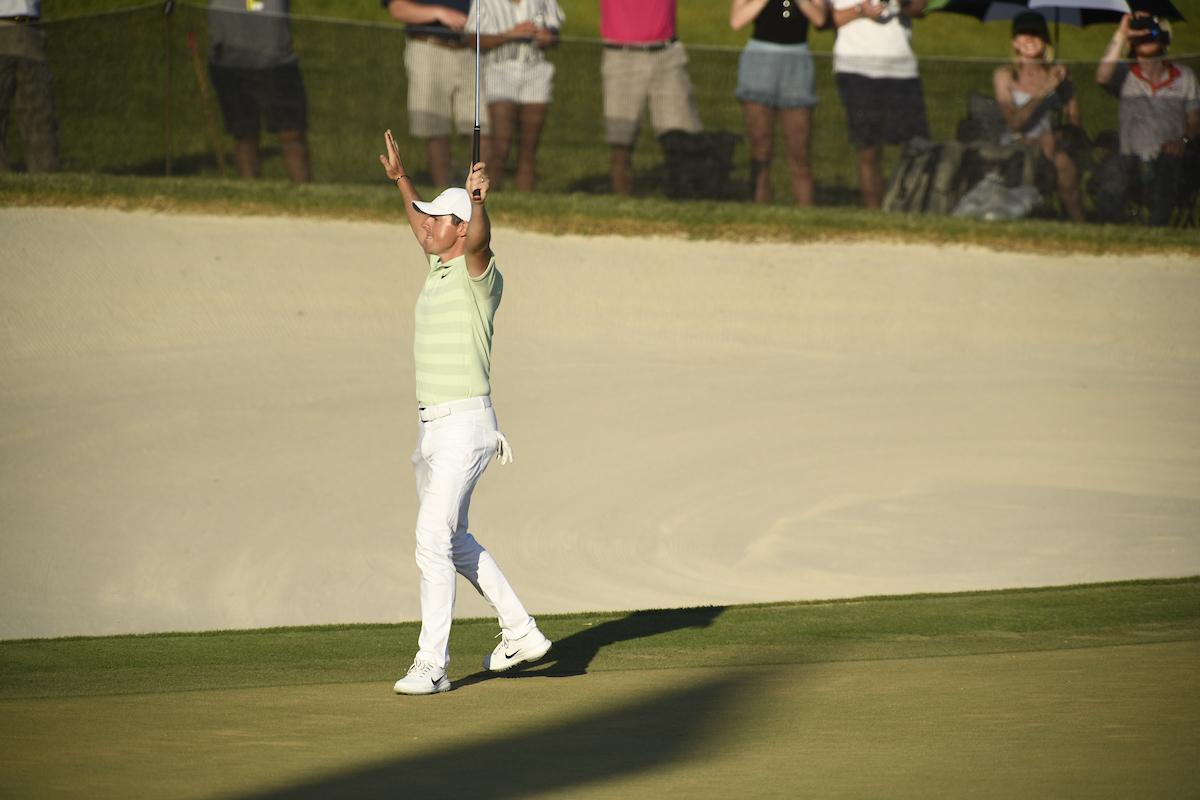 Rory McIlroy tras ganar el Arnold Palmer Invitational. © Golffile | Dalton Hamm