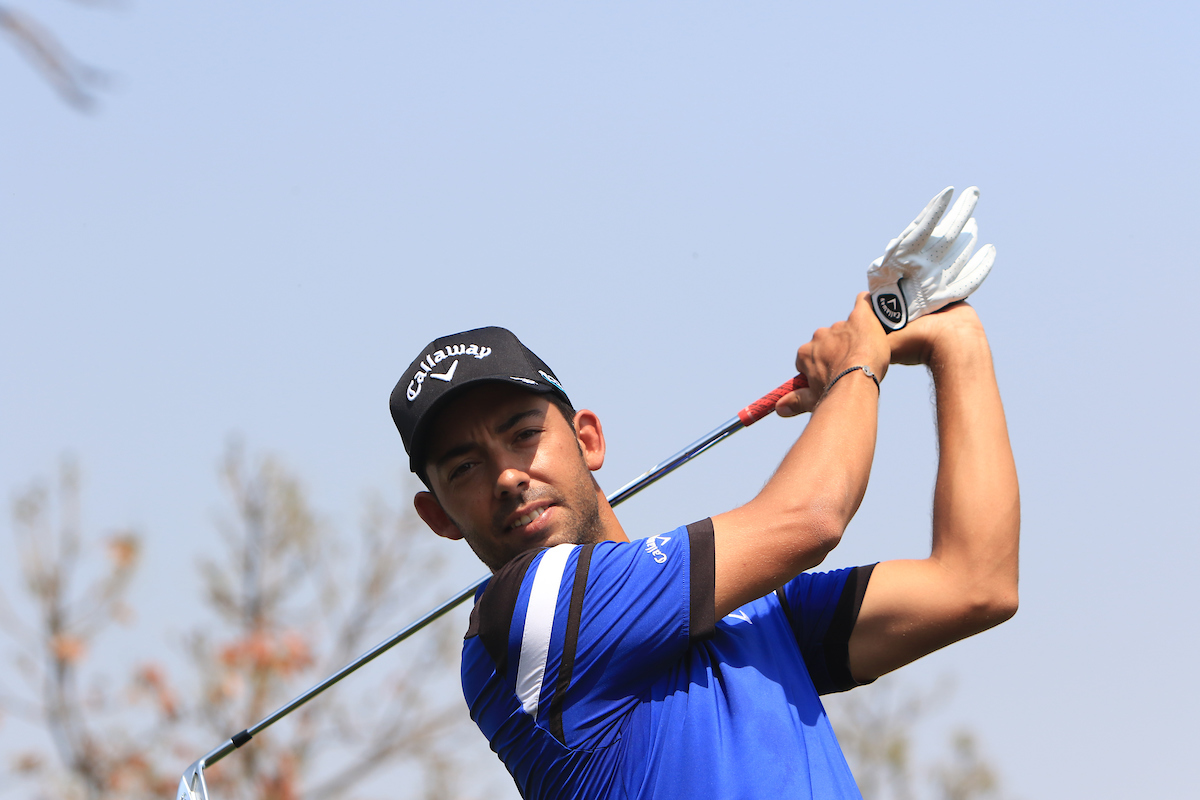 Pablo Larrazábal esta semana en el Indian Open.. © Golffile | Thos Caffrey
