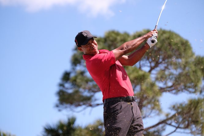 Tiger Woods. © Golffile | Fran Caffrey