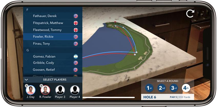 PGA Tour AR © PGA Tour