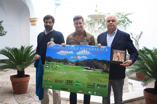 Presentación del cartel del torneo.